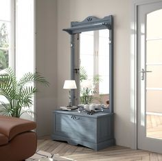 Recycled Furniture, Oversized Mirror, Sweet Home, Shabby, New Homes, Interior Design, Wood, Home Decor, Valencia