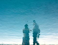 reflected couple -- los angeles, ca