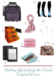 It's that time of year again! Do you need to get a gift for a woman who loves to travel? Well here is a holiday gift guide for the travel inspired woman.