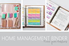 Managing life and staying on task can have it's challenges, but this incredible Home Management Binder is unlike anything you've seen to stay on task!