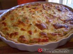 Μιά νοστιμότατη και ευπαρουσίαστη τάρτα με κοτόπουλο πού θα σας βγάλει ασπροπρόσωπη στα τραπέζια σας. Cookbook Recipes, Wine Recipes, Dessert Recipes, Cooking Recipes, Quiches, Cyprus Food, Pastry Cook, Savory Tart, Savoury Pies