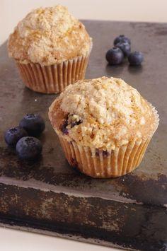 Comment reproduire les muffins à la myrtille de chez Starbucks à la maison.