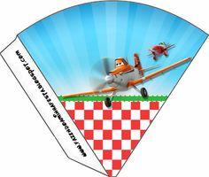 Planes (Disney): Free Party Printables.