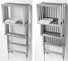 luxury towel warmer rack for small bathroom  Towel Racks for Small Bathroom