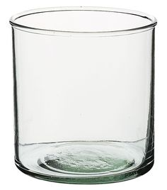 Cylinder Vase Recycled Glass 3.75in H, 3-5/8 T $2.99, 12/$27 save-on-crafts