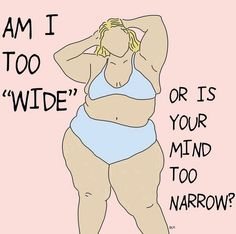 Being stuck is like cutting through a tree with a blunt saw — no matter how much you try, you won't make any progress. Feminist Quotes, Feminist Art, Body Image Art, Body Positive Quotes, Body Quotes, Body Shaming, Body Confidence, Body Love, Self Love Quotes