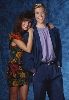 "Kelly Kapowski and Zack Morris – ""Saved by the Bell"""