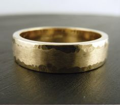 Hey, I found this really awesome Etsy listing at http://www.etsy.com/listing/151336714/mens-gold-wedding-band-ring-14k-yellow