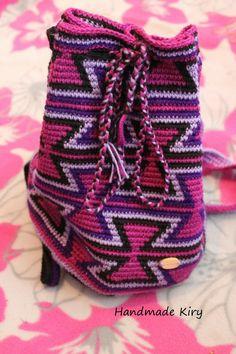 #handmadekiry #handmade #mochila #torba #bag #szydełko