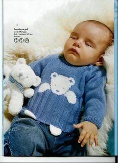 Baby Knitting Patterns, Baby Sweater Knitting Pattern, Knit Baby Sweaters, Boys Sweaters, Knitting For Kids, Knitting Designs, Baby Patterns, Knitting Sweaters, Baby Knits