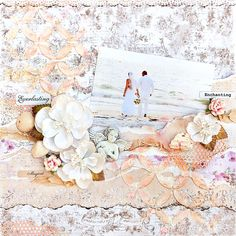 Beach wedding - Scrapbook.com
