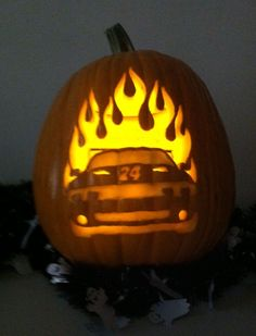 WEEK 3 (Oct. 26, 2012): Congratulations to Melissa Hines for being this week's winner in our Pumpkin Decorating Contest. She won a special Hendrick Motorsports 200th NASCAR Cup win poster and a Jeff Gordon t-shirt.