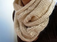Cream on Cream Cowl.
