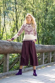 Sweater Design, Crochet, Knitting, My Style, Model, Pattern, Sweaters, Pants, Fair Isles