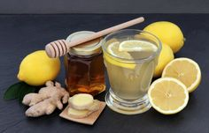 Slow Cooker Ginger-Lemon Hot Toddies - Also a great cold remedy!  www.GetCrocked.com