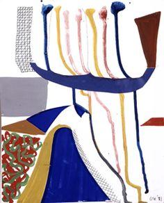 David Hockney, Running Construction 1991
