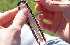 Collana all'uncinetto per la primavera: come crearla con una forcella per capelli   Un'Idea Nelle Mani ... ricicla, riusa, riadatta, ricrea, inventa