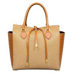 984737143f9e $1,075 Michael Kors Large Miranda Novelty Tote Handbag Luxury Handbags,  Handbags On Sale, Tote