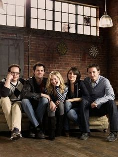Still of Kerr Smith, Shiri Appleby, Kristoffer Polaha, Britt Robertson and Austin Basis in Life Unexpected