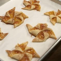 Lazarus Lynch turns the popular Southern peach cobbler into delicate bite-sized pinwheel cookies.