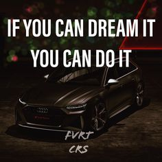 Audi RS6 Audi Rs6, You Can Do, Motivation, Car, Sports, Automobile, Sport, Vehicles, Daily Motivation