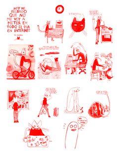 Una historieta que hice para la agenda cultural Alma Mater de la Universidad de Antioquia, Medellín Acá pueden leer otros autores colombianos que hacen parte de la agenda: http://issuu.com/udeacultura/docs/ac_dic_2015