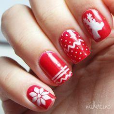 christmas by nailartinc #nail #nails #nailart