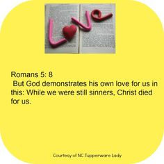 Romans 5:8 #godslove #love