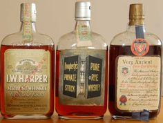 Harper Fall Dougherty's Pure Rye 18 Spring Very Ancient Pure Rye 1902 Aged Whiskey, Whiskey Label, Bourbon Whiskey, Whisky, Whiskey Bottle, Vodka Bottle, Alcohol Prohibition, Old Bottles, Rye