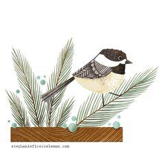chickadee by Stephanie Fizer Coleman