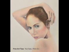 How to Draw Realistic Flesh With Color Pencils - Narrated - YouTube