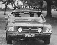 HQ Police car