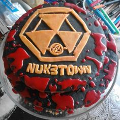 Nuketown birthday cake