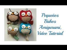 Pequeño búho amigurumi, Vídeo tutorial - YouTube