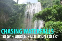 Go chase waterfalls at Luisiana, Laguna. Imagine seeing three falls in one day!