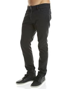 Inseption - Volcom - Mens - Vorta Twill Pant - Black