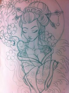 Geisha design