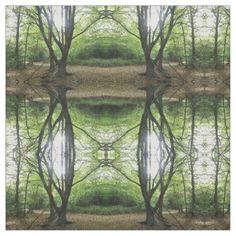 Woodland Sunshine Patterned Fabric