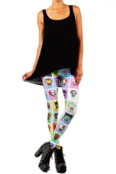 JSalvador: Super Emo Leggings from POPRAGEOUS