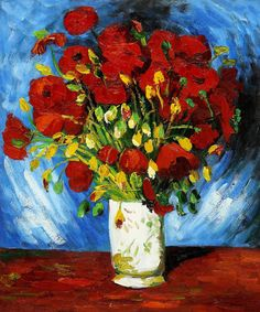 Van Gogh - Poppies - I would love this print, if there is one....