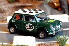 SCX 6396. Mini Cooper. Rally de la Llana 2007. Jorge Dinares-Franc Dinares