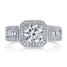 MARS Jewelry: MARS Jewelry MARS 25098 Diamond Engagement Ring 0.27 ct rd 0.38ct bg
