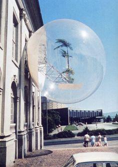 "grupaok: "" Haus Rucker Co., Oasis no. 7, installed at documenta 5, Kassel, Germany, 1972 """