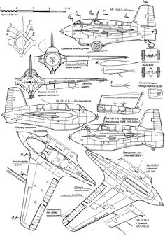 Ww2 Aircraft, Military Aircraft, Luftwaffe, Profile Drawing, Rc Model, Aircraft Design, Technical Drawing, Model Airplanes, Designs To Draw