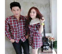18 Gambar Baju Couple Kemeja Keren terbaik  8b65d23363