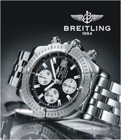 Catalogue Steiner Schwartz Breitling Advert Evolution, Graphic Design, Advertising, Graphics, Accessories, Jewellery, Jewels, Schmuck