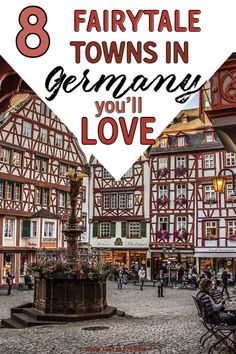 8 Beautiful Fairy Tale Towns In Germany You Have To See! Little-know hidden towns germany that belong in a fairy tale towns germany. The best towns in western germany! Some of the most beautiful towns close to Munich! Cities In Germany, Germany Travel, Germany Castles, Places To Travel, Travel Destinations, Places To Go, Travel Guides, Travel Tips, Backpacking Europe