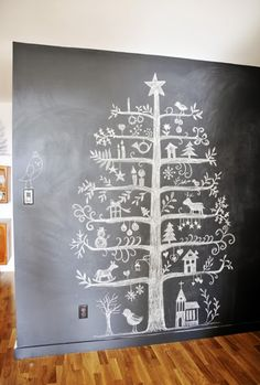 We are going with 2D trees this year. For one we don't own a big artificial tree, two we don't have room for a big tree, three Castle will ...