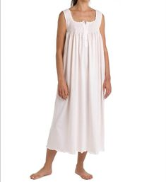 P-Jamas Lucero Lucero Ankle Length Nightgown (Pink M), Women's, Size: Medium