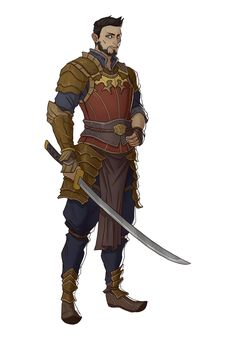 ArtStation - RPG Character Set 15, Ernesto Irawan